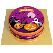 Gâteau Happy Halloween - Ø 20 cm Vanille
