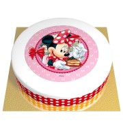 Gâteau Minnie - Ø 26 cm Chocolat