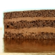 Gâteau Licorne Rainbow bleu - Ø 26 cm Chocolat