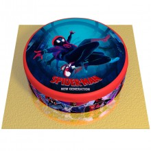 Gâteau Spider-Man New Generation - Ø 20 cm