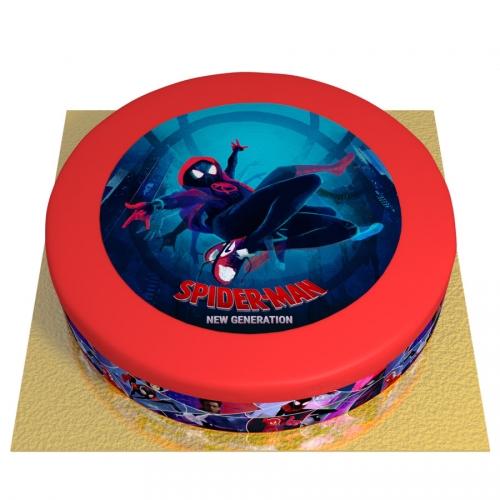 Gâteau Spider-Man New Generation - Ø 26 cm