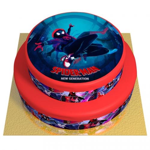 Gâteau Spider-Man New Generation - 2 étages