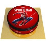 Gâteau Spider-Man Marvel - Ø 20 cm Vanille