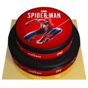 Gâteau Spider-Man Marvel - 2 étages Vanille