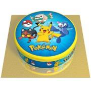 Gâteau Pokémon - Ø 20 cm Chocolat