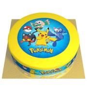 Gâteau Pokémon - Ø 26 cm Fraise