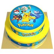 Gâteau Pokémon - 2 étages Fraise