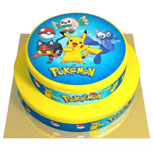 Gâteau Pokémon - 2 étages