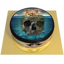 Gâteau Pirate l'Ile Fantôme - Ø 20 cm