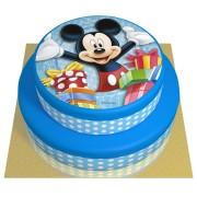 Gâteau Mickey - 2 étages Fraise