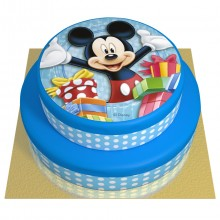 Gâteau Mickey - 2 étages