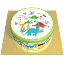 Gâteau Dino Colors - Ø 20 cm