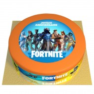 Gâteau Fortnite - Ø 26 cm