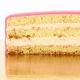 Gâteau Licorne Or Personnalisable - 26 x 20 cm Fraise