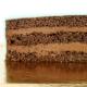 Gâteau Licorne Or Personnalisable - 26 x 20 cm Chocolat