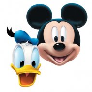 4 Masques Mickey et Donald