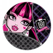 8 Assiettes Monster High