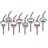 8 Pailles Monster High