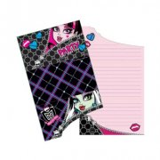 6 Invitations Monster High