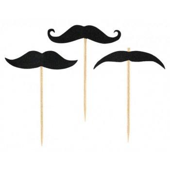 20 Pics décoratifs Moustache
