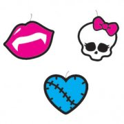 4 Bougies � piquer Monster High