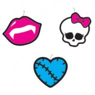 4 Bougies à piquer Monster High