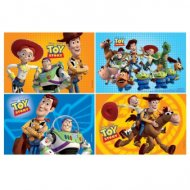 4 Puzzles Toy Story 3