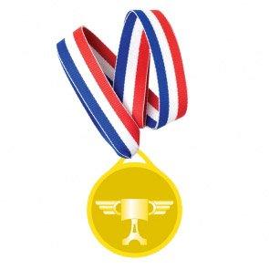 6 Médailles Cars 2