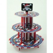 Pr�sentoir 3 Plateaux Cupcakes Pirate Party