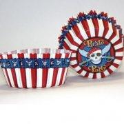 50 Caissettes à Cupcakes Pirate Party