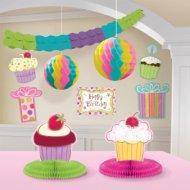 Set 10 décorations de salle Sweet Cake
