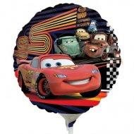 Ballon sur tige Cars 2 rond