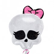 Ballon H�lium Monster High Skull
