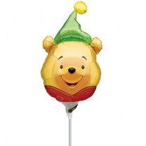 Ballon sur tige Tête de Winnie