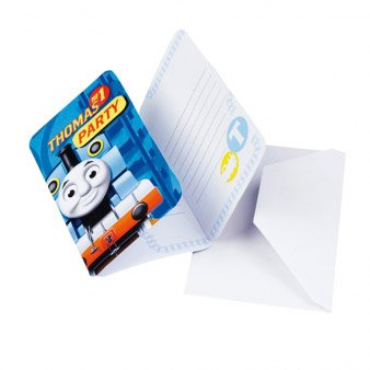 6 Invitations Thomas & Friends