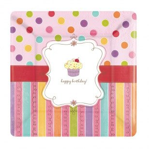 8 Assiettes Sweet Cake