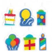 6 Bougies Cadeaux