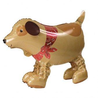 Ballon g ant chien airwalkers pour l 39 anniversaire de votre enfant annikids - Faire tenir des ballons en l air sans helium ...