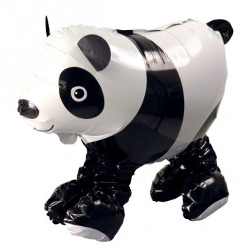 Ballon g ant panda airwalkers pour l 39 anniversaire de votre enfant annikids - Faire tenir des ballons en l air sans helium ...