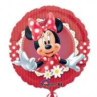 Ballon Gonflé à l'Hélium Minnie Marguerites