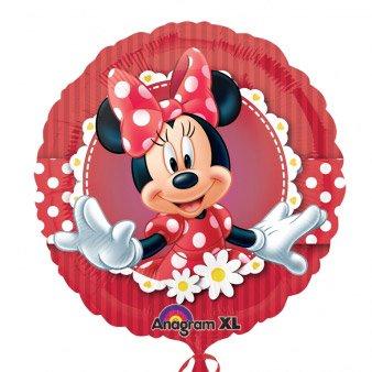 Ballon Gonflé à l Hélium Minnie Marguerites