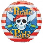 Ballon Hélium Pirate Party