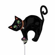 Ballon sur tige chat