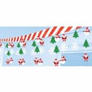 Guirlande Sapin, bonhomme de neige et Père Noël