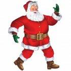 Grande Décoration Père Noël