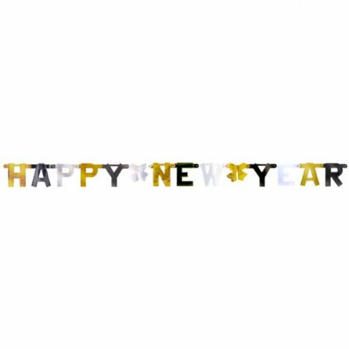 Guirlande lettres Happy New Year
