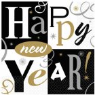 8 Assiettes Happy New year