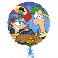 Ballon Hélium Phineas & Ferb