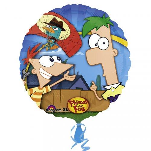Ballon Gonflé à l Hélium Phineas & Ferb