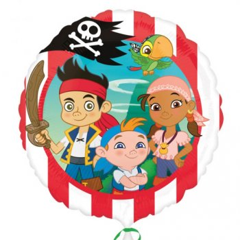 Ballon Hélium Jake le Pirate